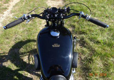 Renovace motocyklu Sunbeam