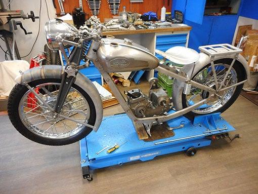 Renovace motocyklu
