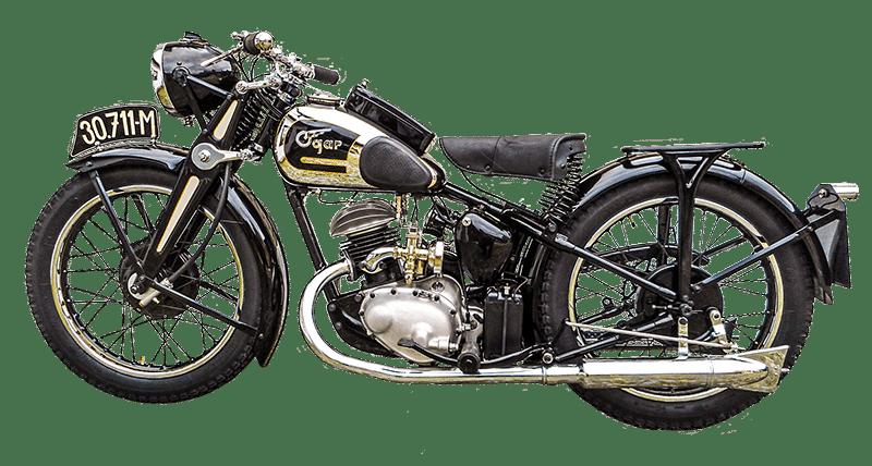 Motocykl Ogar